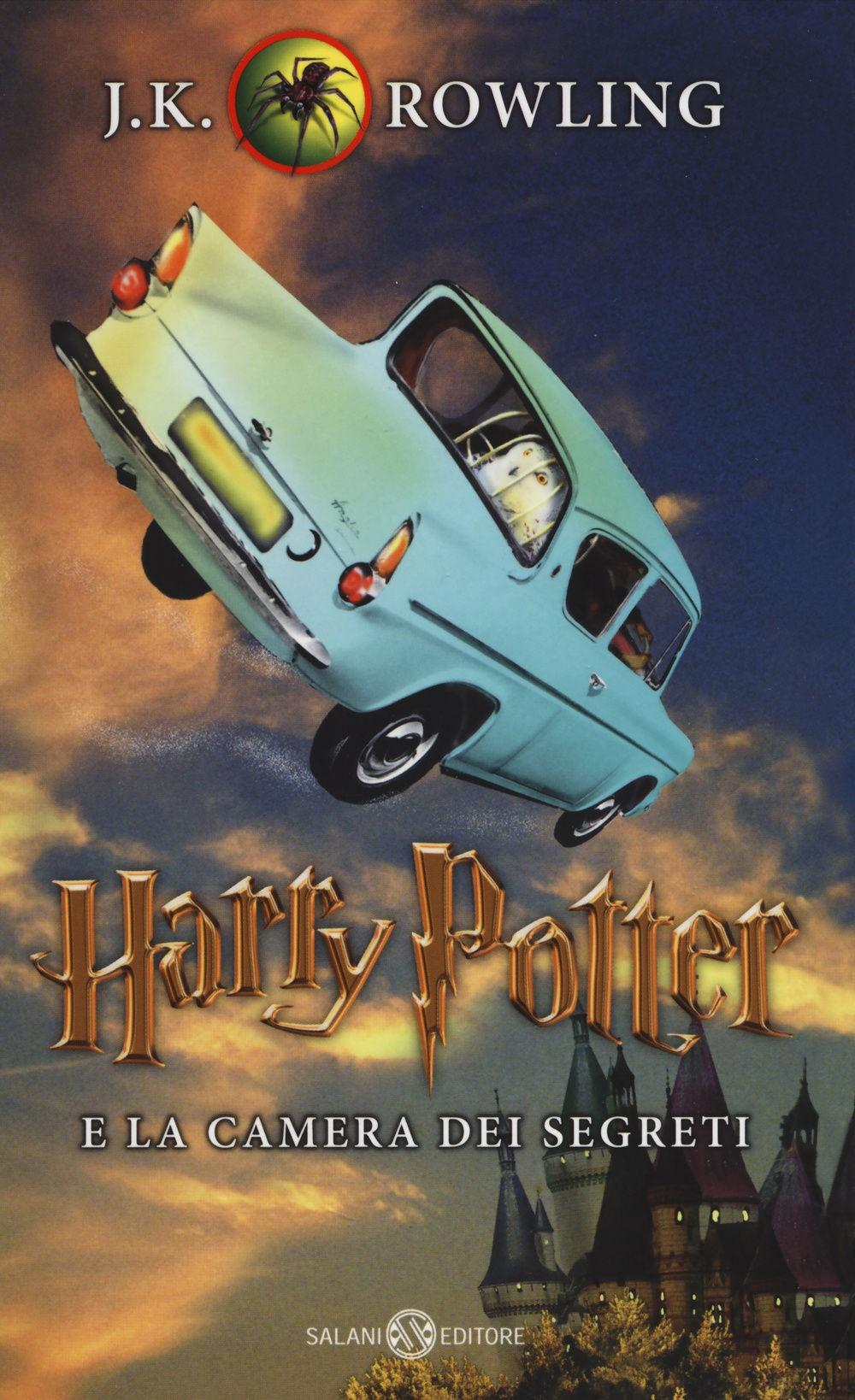 Harry potter e la camera dei segreti vol 2 for Camera dei