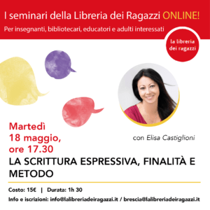 seminario scrittura espressiva Elisa Castiglioni