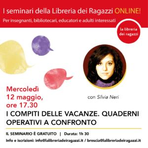 Seminario sui compiti delle vacanze di Silvia Neri