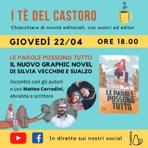 Presentazione del nuovo graphic novel di Silvia Vecchini e Sualzo